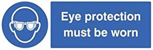 SIGN, EYE PROT MUST BE WORN, RP 15003G By Best Price Square