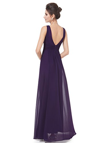 Ever-Pretty HE08110VE10 - Vestido para mujer Morado