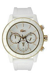 Lacoste Charlotte Chronograph Silicone - White Women's watch #2000798