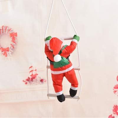 LXT&YY Escalera de Papá Noel de 40 cm para Colgar en el árbol de Navidad, decoración de Navidad o en la Puerta del hogar: Amazon.es: Hogar