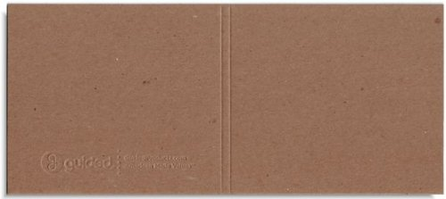 Guided Products (formerly ReBinder) RePlay 2-Disc Sleeve, 100% Recycled Paperboard Sleeve (Embossed Chipboard)