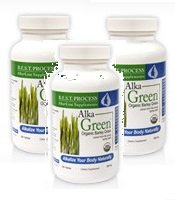 Dr. Morter's Alka Green Tablets (3 Bottles/pk) (Best Process Alka Green)