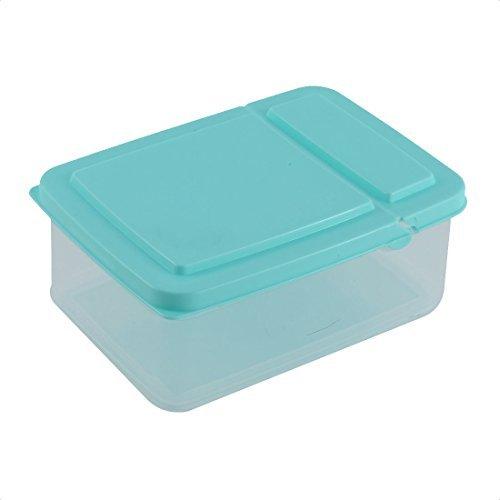 DealMux plástico Inicio Nevera Congelador Transparente Caja de ...