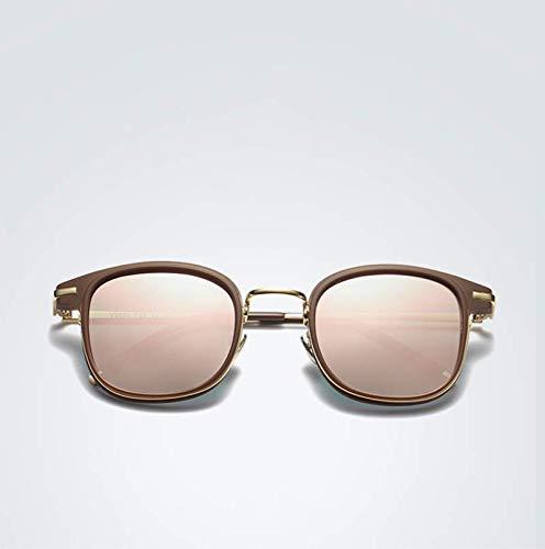 XINGUANG para Sol Mujer versátiles Modelos de Gafas Sol Coloridas polarizadas de y de Gafas Moda raFWrIqRP