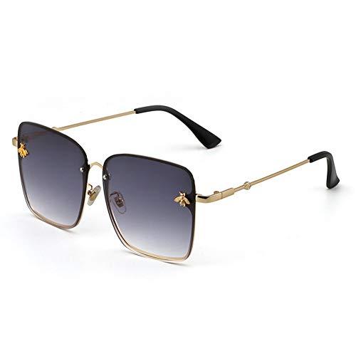 gafas calle Abeja cuadrados gafas sol gradiente decorativa señoras de sol de NIFG tiro A vw0qZdq