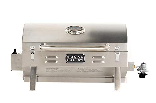 Masterbuilt Smoke Hollow PT300B Propane Grill, Tabletop (Newer Version)