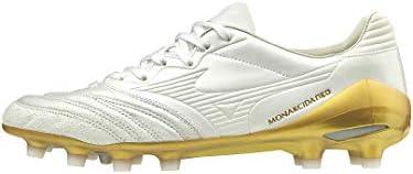 メンズ サッカースパイク モナルシーダ ネオ ジャパン MONARCIDA NEO JAPAN ホワイト×ホワイト×ゴールド P1GA2020 01