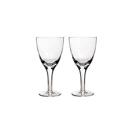 (Denby Glassware White Wine Glasses, Set of)