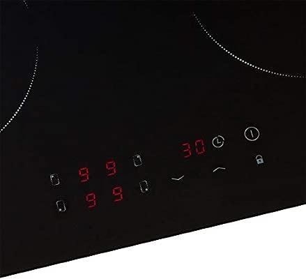Inducción hobs 4 zonas placa de cocina (hobs Autark Touch ...