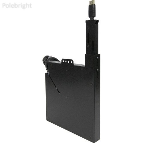 (DisplayPort Cable Retractor for T6 and T3-IPS Table Boxes (Black) - Polebright update)