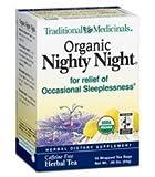 Cheap Traditional Medicinals Organic Nighty Night Valerian Herbal Tea – 16 bags per pack – 6 packs per case.