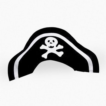 Dozen Child Felt Pirate Hats