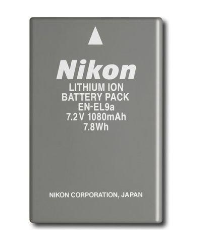 New OEM Nikon EN-EL9a Battery For Nikon DSLR D40 D40x D60 D3000 D5000 D3X