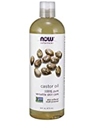 NOW Castor Oil, 16-Ounce