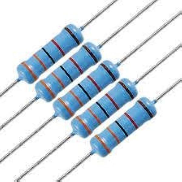 metal film; THT; 750kOhm; 2W; ±1/%; Ø5x12mm; 50ppm//°C Widerstand 20 st