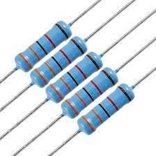 20 st metal film; THT; 160kOhm; 2W; ±1/%; Ø5x12mm; 50ppm//°C Widerstand