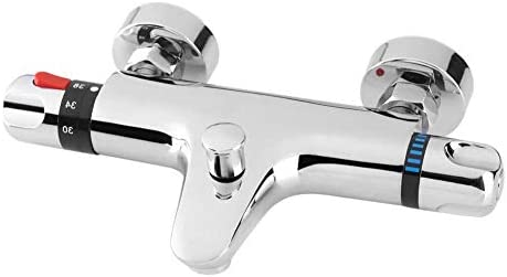 ZGQA-GQA サーモスタット混合弁、コントロールバルブサーモスタットシャワーの蛇口浴室のミキサーのタップの壁はタブスパウトと家族のために水のダイバーの使用を搭載しました