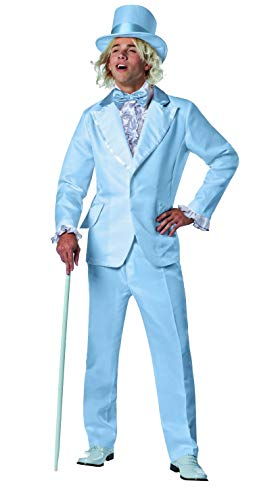 Rasta Imposta Dumb and Dumber Harry Dunne Tuxedo Costume, Blue, One Size -