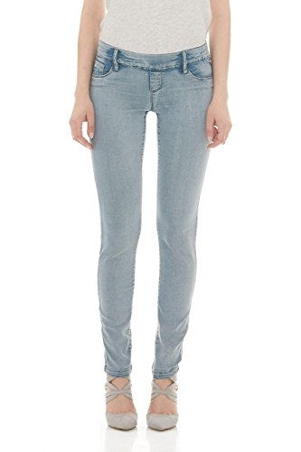cc2856074a0a Galleon - Suko Jeans Pull On Power Stretch Skinny Jeans For Women 16801  Bleach 10