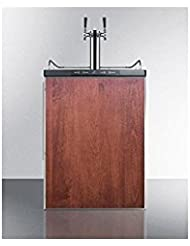 Summit SBC635MBIFRTWIN Wine Dispenser, Brown