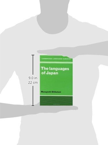 The Languages of Japan (Cambridge Language Surveys) by Cambridge University Press