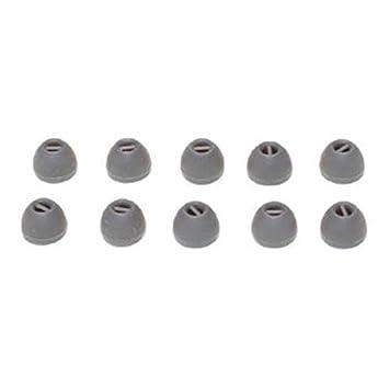 Sennheiser de silicona almohadillas grandes en color gris (5 pares ...