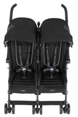 Maclaren BMW Twin Stroller, (Maclaren Standard Strollers)