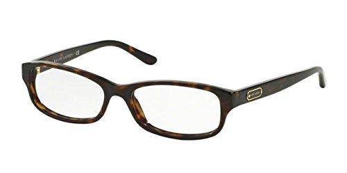Ralph Lauren RL6130 Eyeglass Frames 5003-51 - Dark Havana - Ralph Lauren Mens Shades