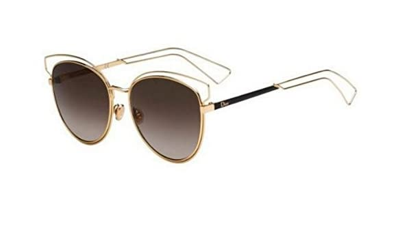 49f43a5d298 Amazon.com  New Christian Dior SIDERAL 2 JB2 HA Gold Brown Shaded  Sunglasses  Clothing