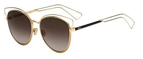 New Christian Dior SIDERAL 2 JB2/HA Gold/Brown Shaded - 2 Dior Sideral