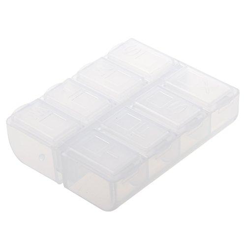 Sonline Plastic Weekly Medicine Holder