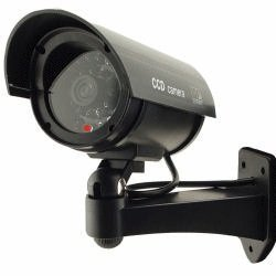 Outdoor Waterproof Fake / Dummy Security Camera with Blinking Light (Black) from LOFTEK