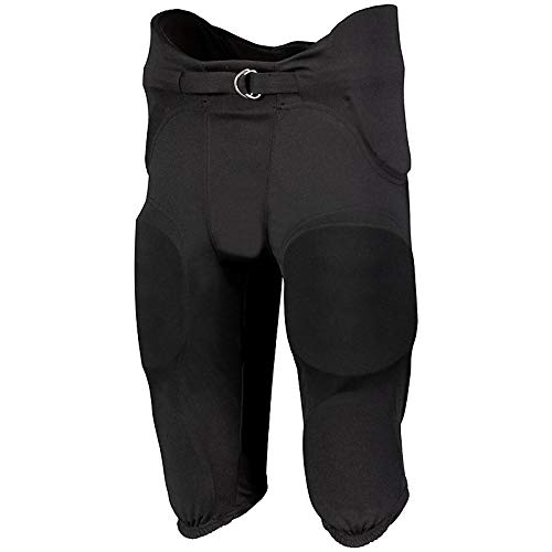 Youth Football Pants Pads - Russell Youth Integrated 7 Piece Pad Economy Football Pants