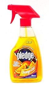 SC Johnson 26363 16 Oz Pledge Revitalizing Oil Furniture Polish W/Orange Oil by Johnson (Image #1)