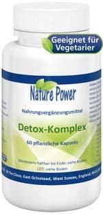 Detox Komplex   Unterstützung für Leber und Niere   von NATURE POWER   60 pflanzliche Kapseln