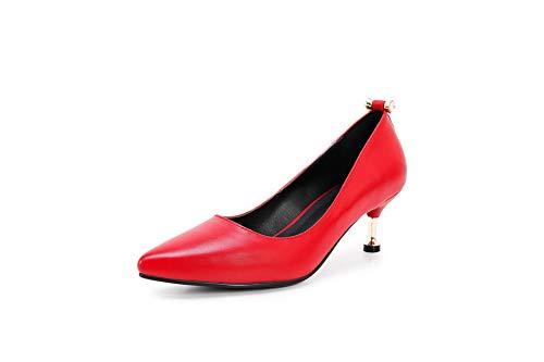 Rosso Red Aimint Sandali Zeppa con 35 ERR00036 Donna 8Yw8Xq