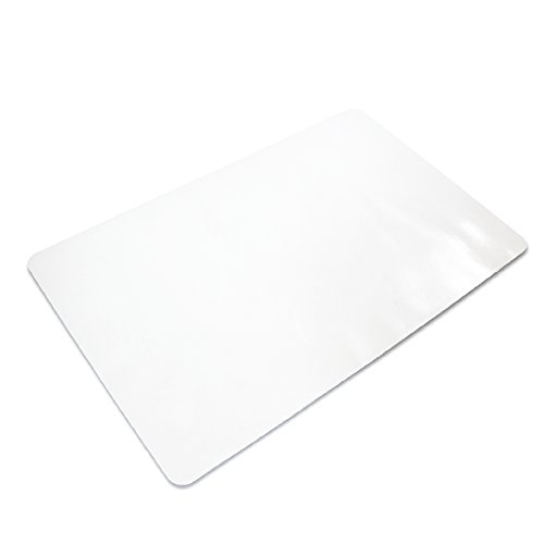 "Ilyapa Office Chair Mat for Hard Floors 47"" x 59"" Heavy Duty Clear, PVC Chair Mat for Hardwood and Tile Floors, Protective Floor Mat for Home or Office"
