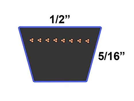 D/&D PowerDrive 4461737 Snapper INC Kevlar Replacement Belt 1 Number of Band Aramid