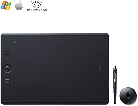 Wacom uPTH451 Small Intuos Pro Pen /& Touch Tablet Renewed