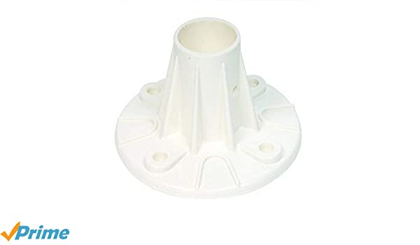 Smith 05-623 Plastic Deck-Mounted Flange S.R Single