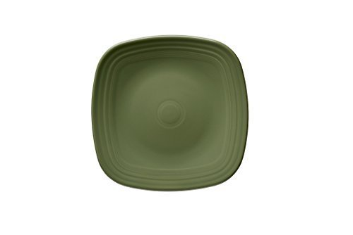 (Fiesta 919-340 Square Dinner Plate, 10-3/4, Sage by)