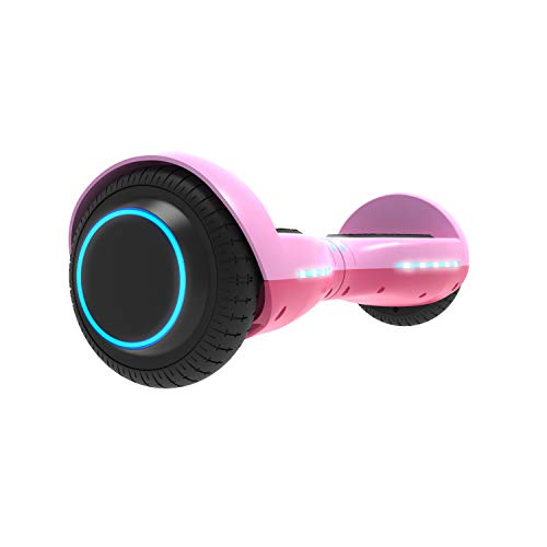 GOTRAX ION LED Hoverboard - UL Certified Hover Board w/Self Balancing Mode (Pink) ()