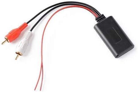 Zxyan 耐久性に優れた2 RCAケーブルアダプタとユニバーサルカーBluetoothモジュールアダプタラジオステレオ モジュール