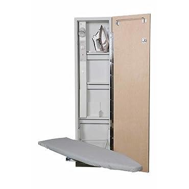 Premium Swivel Ironing Center Door Finish: White