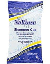 No Rinse Shampoo Cap (5-Pack) - Shampoo Free Rinse