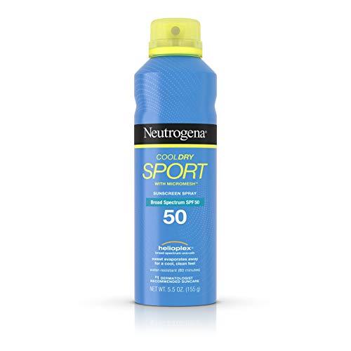 Neutrogena Cool Dry Sport Spray, 5.5 Ounce