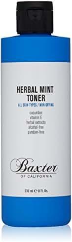 Baxter of California Herbal Mint Toner for Men, 8 fl. oz.