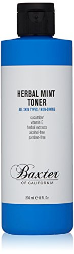 (Baxter of California Alcohol-Free Herbal Mint Toner with Witch Hazel, All Skin Types, 8 fl.)