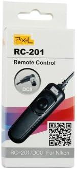 D300s F5 D2Xs F6 F100 F90 F90x; KODAK DCS-14n; FUJIFILM Finepix S3pro D1h D300 Pixel RC-201 Remote Shutter Release Control compatible with NIKON MC-36 D1 D1x D3 D700 D2x Finepix S5pro for NIKON D3x D3s D2H D200