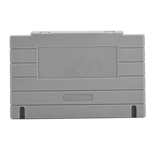 Tangxi 5PCS Cartridge Shell for SNES SFC Nintendo Game Case Replacement - Grey